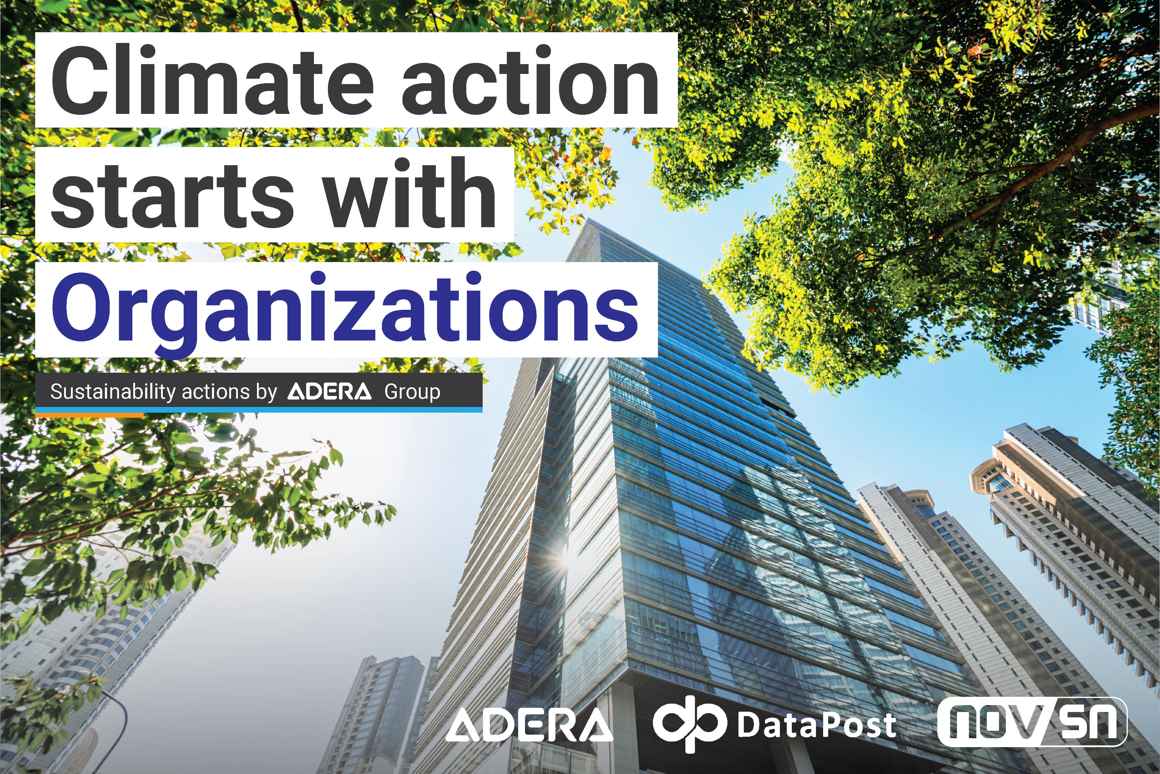 Climate Action start with Organizations